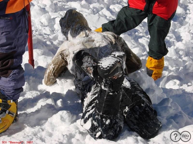 Трагедия в ущелье Адыр-Су, погибший альпинист