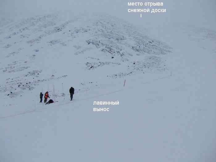 """Турист из Северодвинска - погиб под лавиной -""""снежной доской"""" в Хибинской Тундре"""