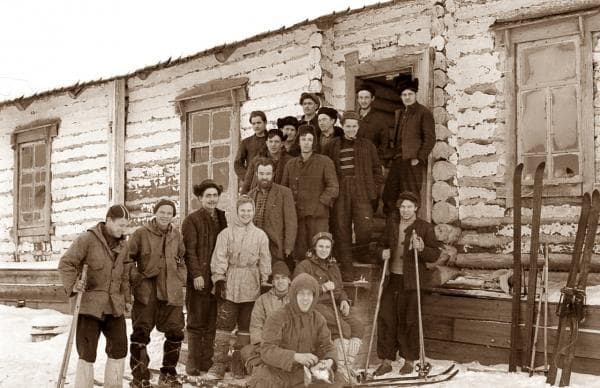 Группа Дятлова и рабочие 41-гоучастка