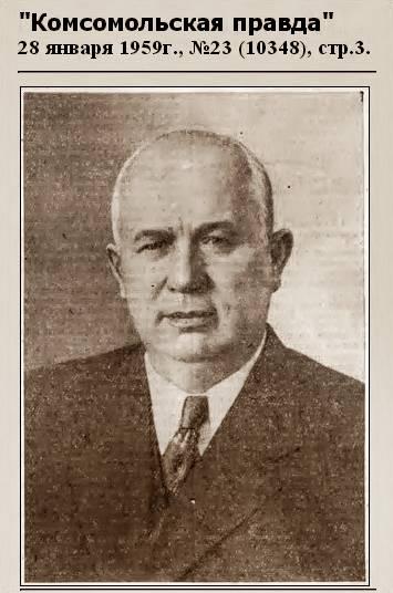 Н.С. Хрущев 28 января 1959 года