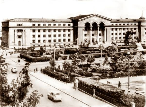 Здание Свердловского совнархоза