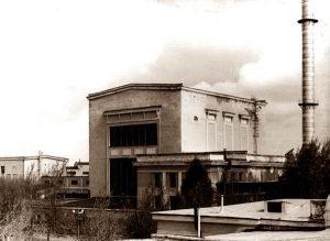 Здание первого реактора