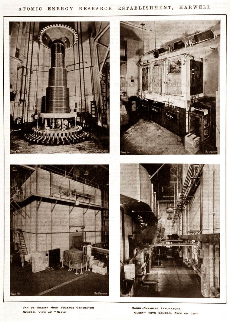 лаборатория Harwell   Laboratory 1948 г.