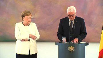 Меркель дрожит