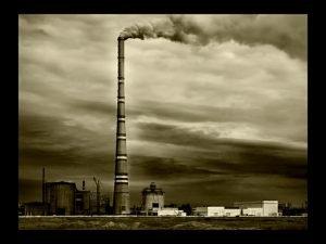 Самая   высокая в мире труба Экибастузской ГРЭС высотой 420 метров