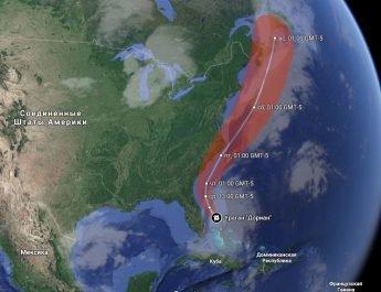 ураган Дориан США