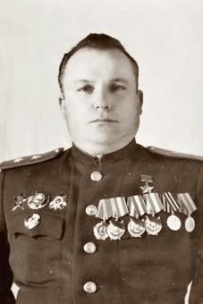 Командующий ВВС Уральского военного округа Куцевалов Тимофей Фёдорович