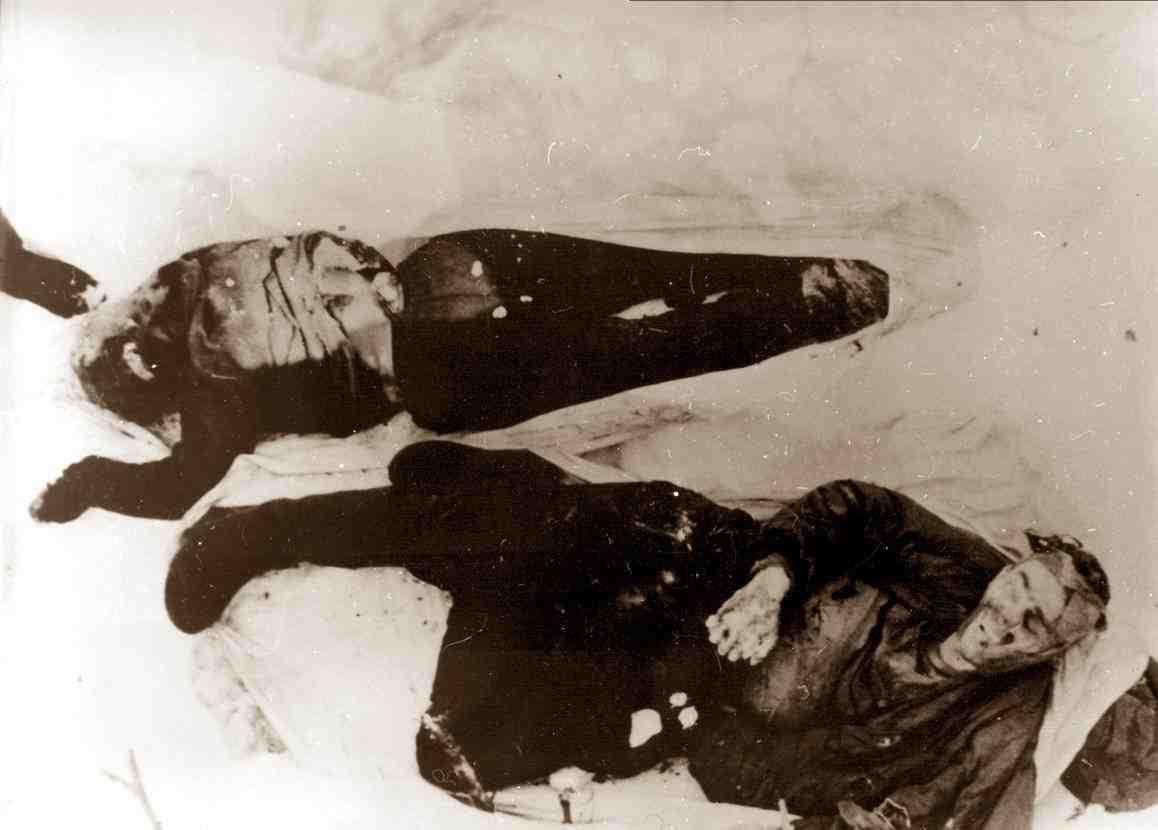 Тела Николая Тибо и Люды Дубининой.