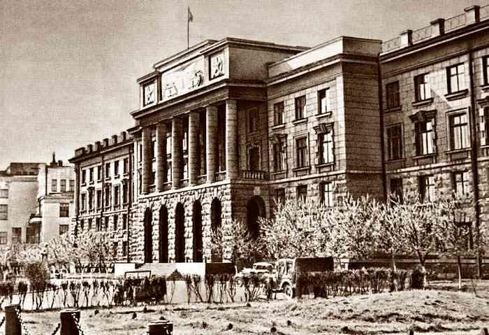 Штаб Уральского военного округа